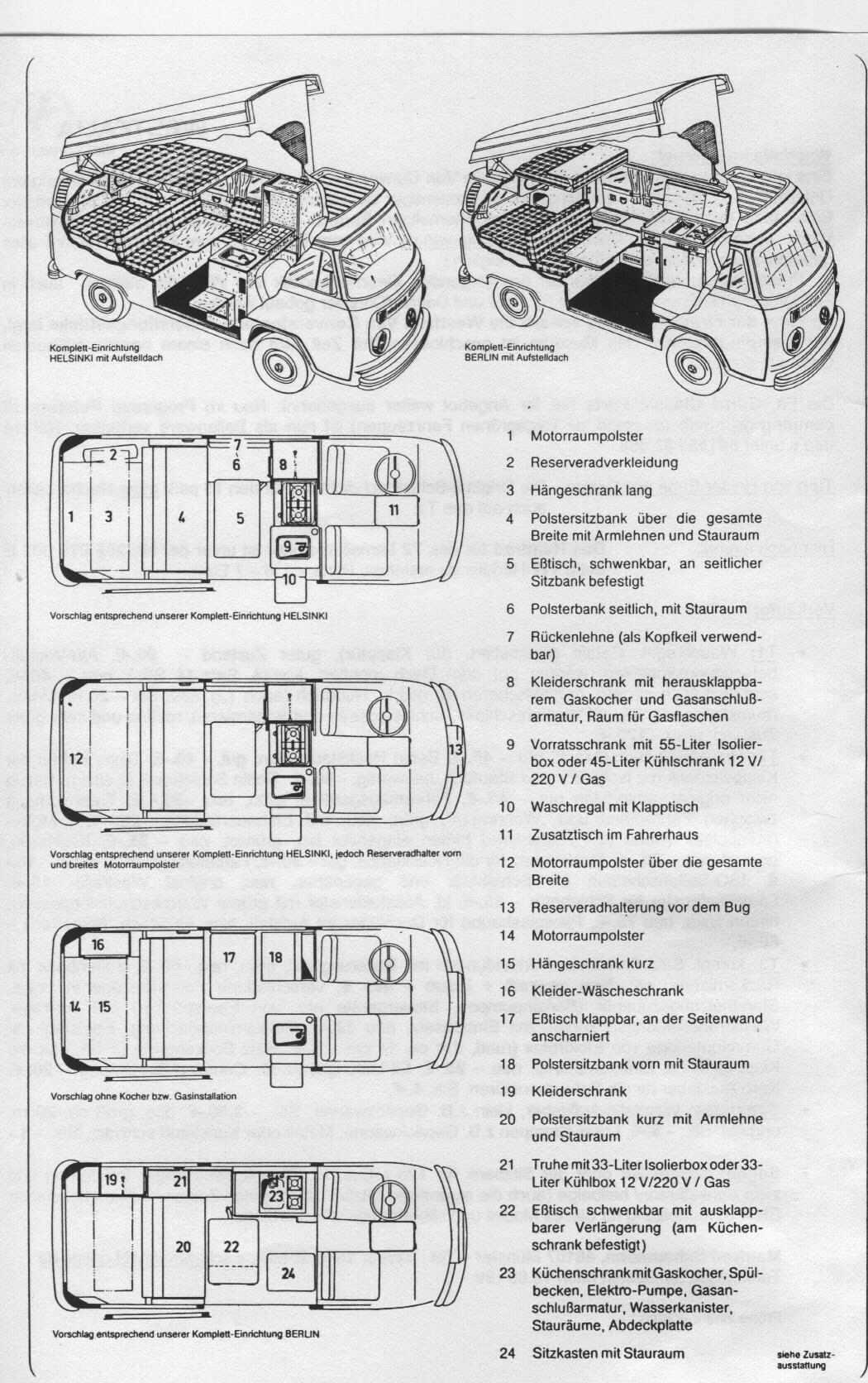 Bullimania forum allestimento interni vw t2 westfalia for Mobili westfalia